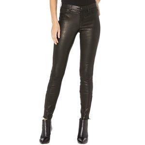 NWT J Brand L8001 Mid-Rise Skinny Pants in Noir